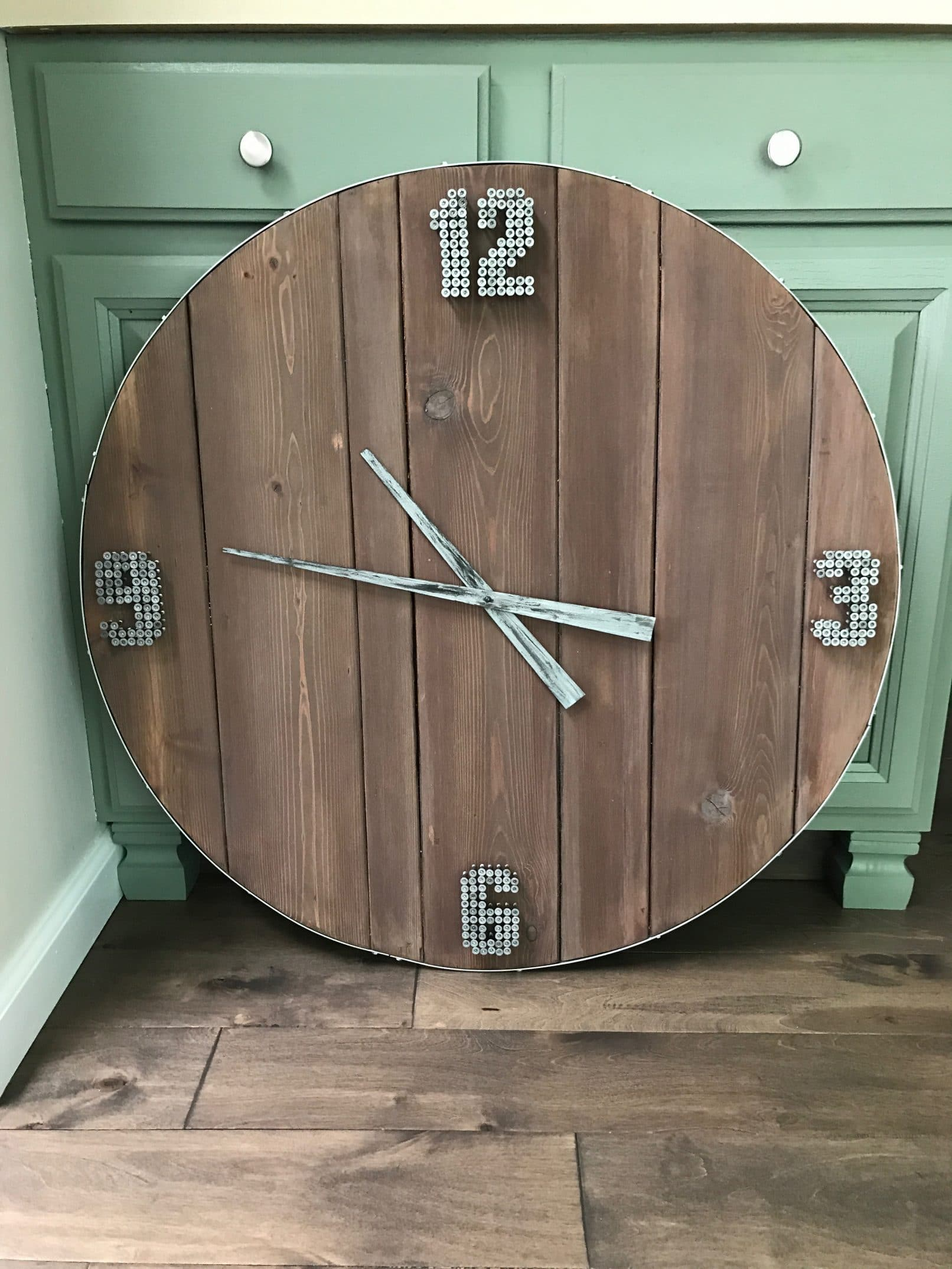 Custom Built Industrial Style Clock