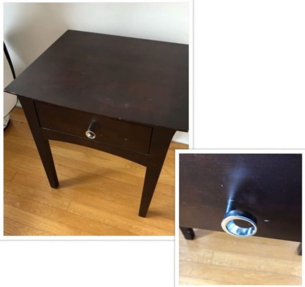 amy's upcycles, painted furniture, furniture, makeover, before and after, nightstands