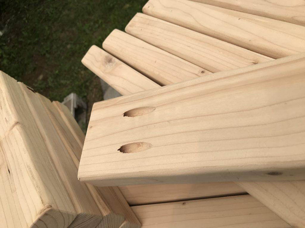 Cornhole boards, company team building