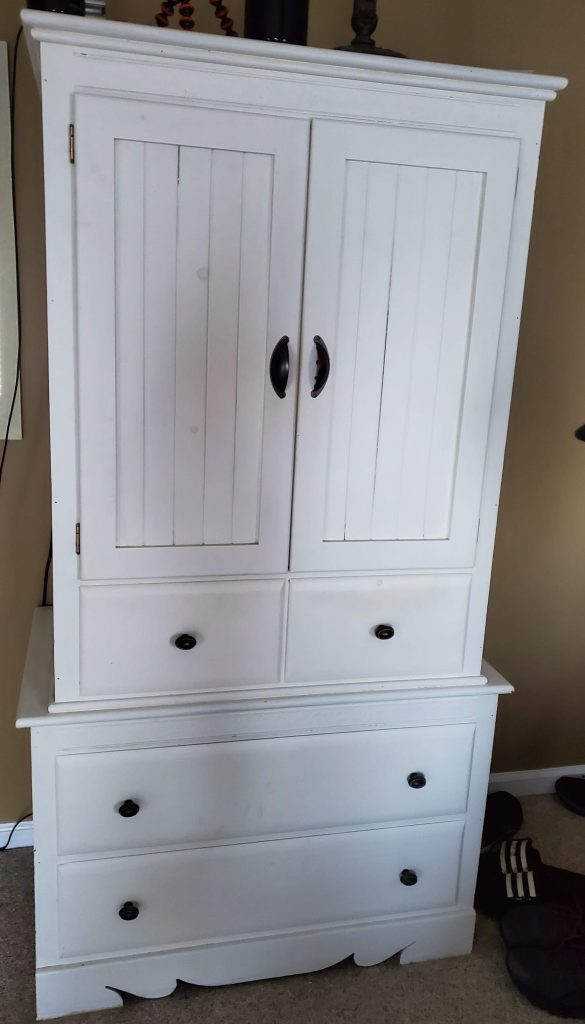 painted furniture, armoire, Amy's Upcycles