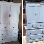 painted furniture, Amy's Upcycles, armoire makeover