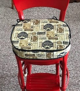 one-of-a-kind furniture, upcycle, Amy's Upcycles, painted furniture