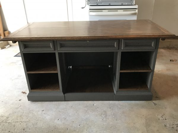 amysupcycles, upcycle, repurpose, desk to sideboard, dining room, Pottstown PA