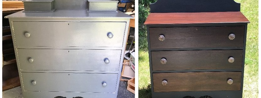 Amy's Upcycles, Upcycle, Dresser, Painted Furniture, Pottstown PA, Refinish
