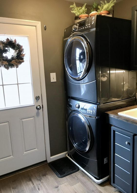 Amy's Upcycles, Pottstown PA, Laundry Room Makeover, Upcycle, painted furntiture