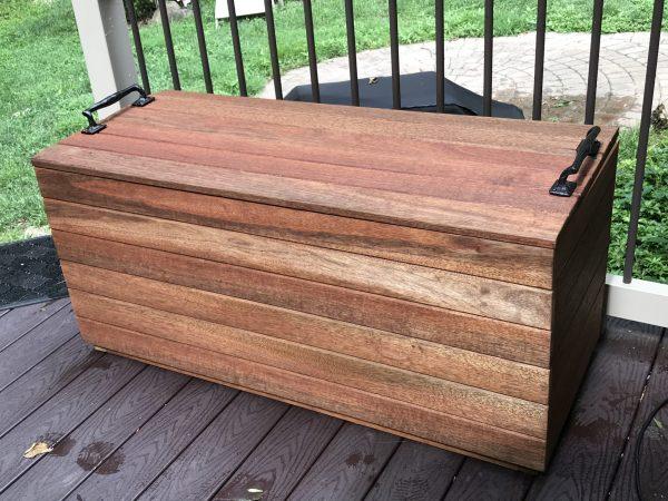 Amy's Upcycles, upcycle, custom build, deck box, Pottstown PA