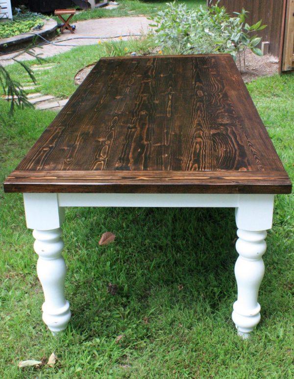 Amy's Upcycles, upcycle, custom built, dining table, farm style, farm table, TCACC, Pottstown, PA, Custom built