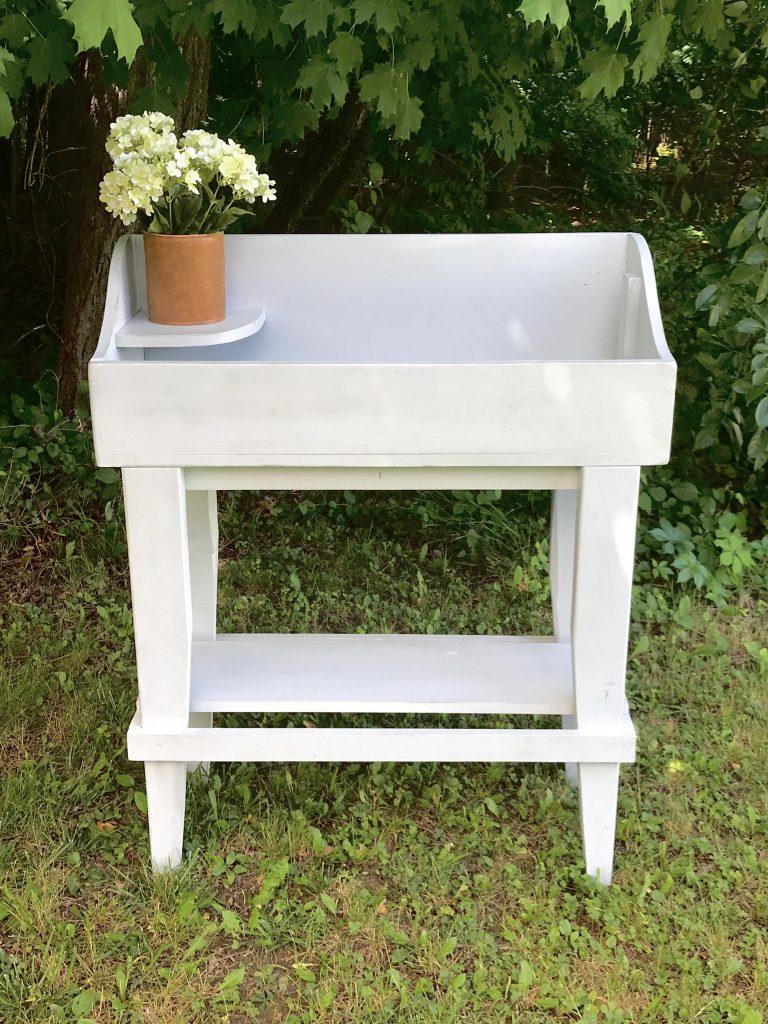 Refinished potting bench