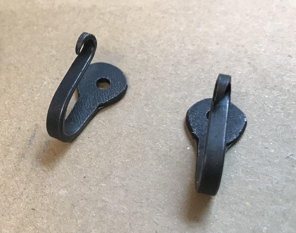 Hand-forged hooks