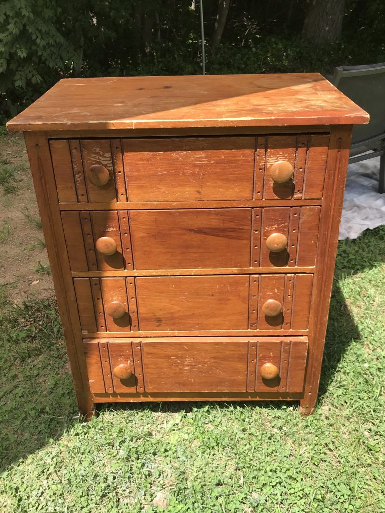 4 drawer dresser before